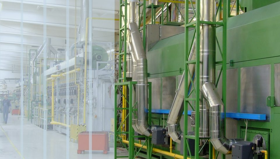 PVC Industrievorhang