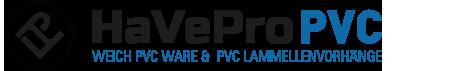 PVC Streifen Shop-Logo